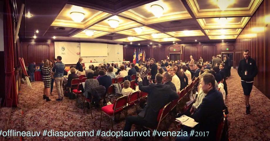 """(foto, video) Cum se desfășoară offline-ul """"Adoptă un vot"""" la care participă 200 de moldoveni din 19 țări"""
