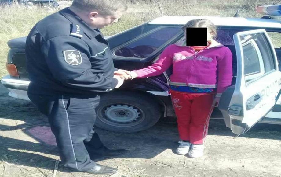 Vești bune! Minora dispărută fără veste din Bubuieci a fost găsită de poliţişti pe un câmp