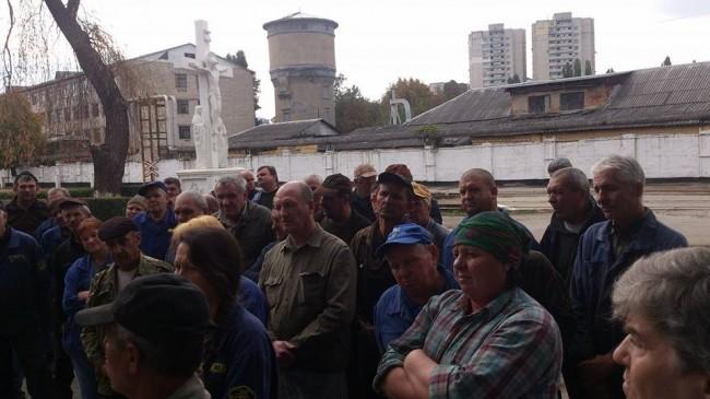 (video) Angajații CFM au protestat pentru lichidarea restanțelor salariale. Cum se scuză instituția