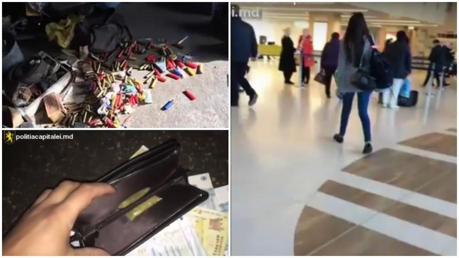 (video) Mai mulți tineri au fost reținuți pentru circulația drogurilor și traficul de ființe umane