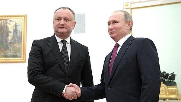 Igor Dodon va avea o întrevedere cu Vladimir Putin în această săptămână
