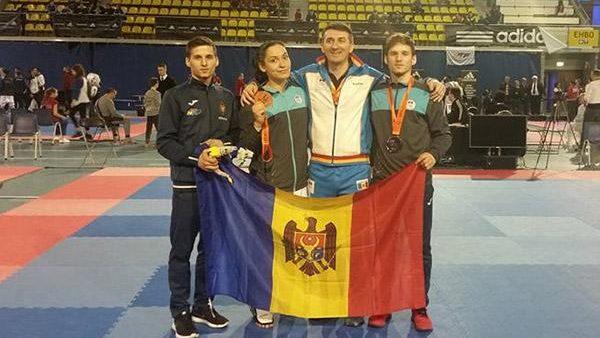 Luptătorii moldoveni Ana Ciuchitu și Stepan Dimitrov au cucerit medalii la Dutch Open