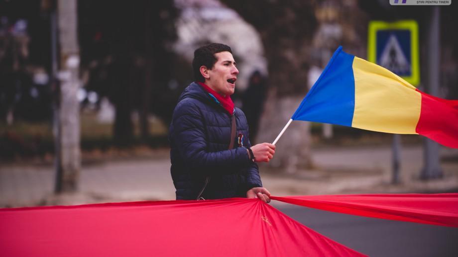 Marșul Tricolorului la Chișinău: Unioniștii vor arbora duminică un tricolor lung de 100 de metri