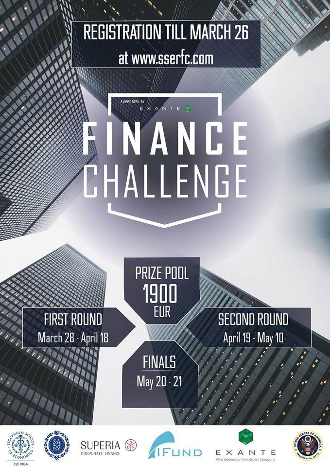 Finance Challenge Poster