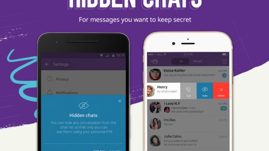 """Viber primeşte funcţia """"secret chats"""", în care mesajele dispar fără urmă"""