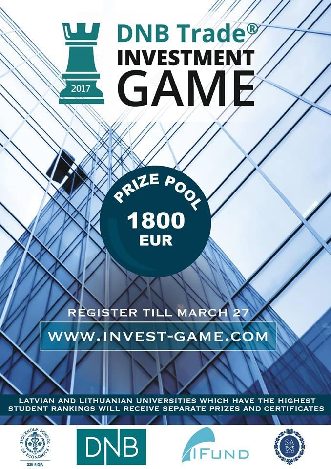 Investment Game poster