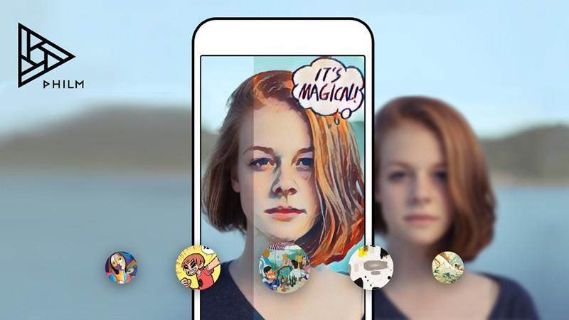 (foto) Aplicația Phil: Te ajută să-ți transformi selfie-urile în opere de artă