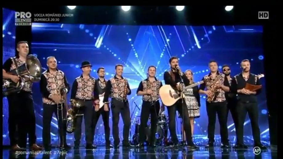 """(video) Formația Tharmis a oferit un moment exploziv de energie și voie bună la """"Românii au Talent"""""""