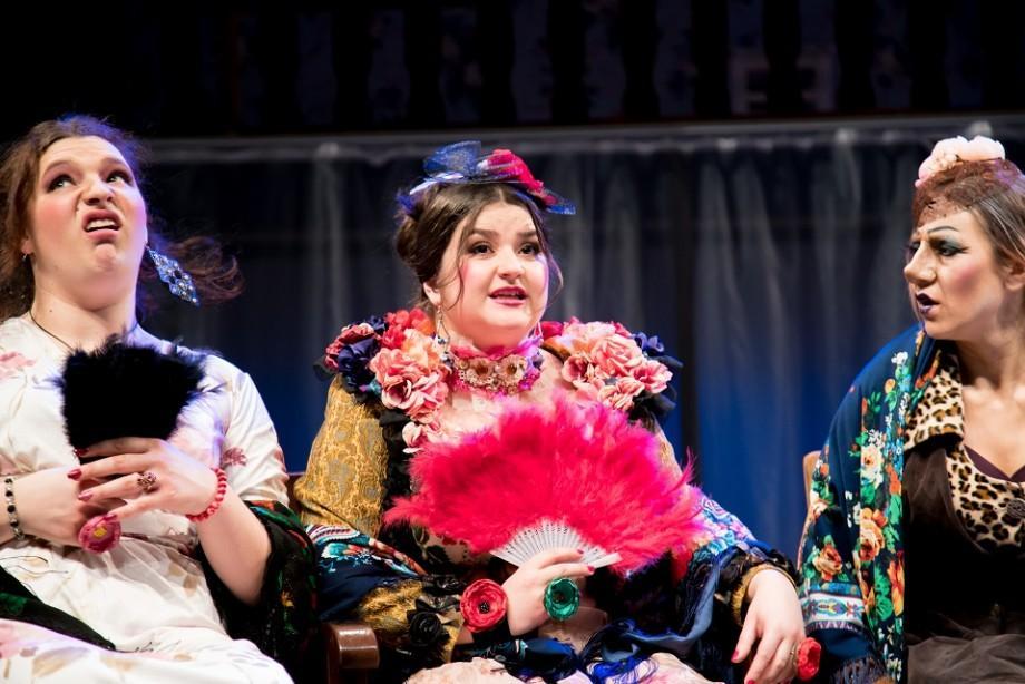 """(foto) Spectacolele săptămânii curente ce vor fi jucate pe scena Teatrului Național """"Eugene Ionesco"""""""