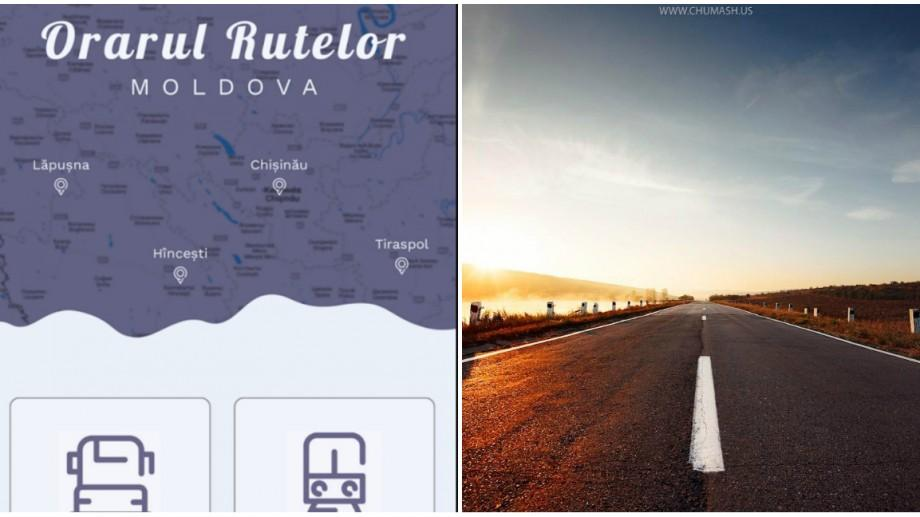 Aplicația mobilă gratuită cu orarul trenurilor și rutelor interurbane din Moldova