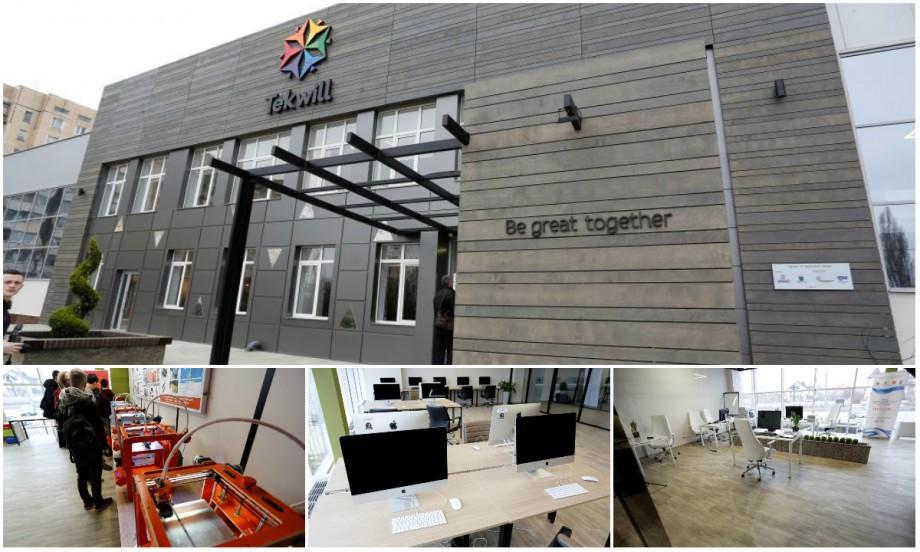 """(galerie foto) Inovația e la ea acasă! Iată cât de dotat este Centrul de Excelență în domeniul TIC """"Tekwill"""""""
