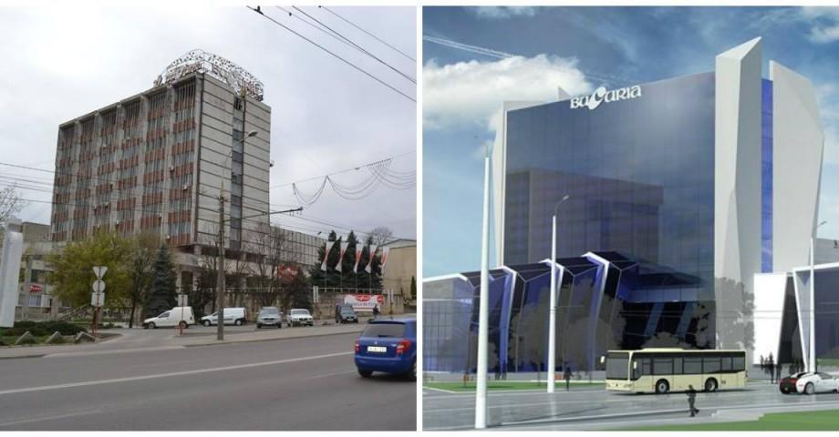 """(foto) Fabrica """"Bucuria"""" își propune renovarea clădirii. Cum ar putea arăta clădirea după transformare"""
