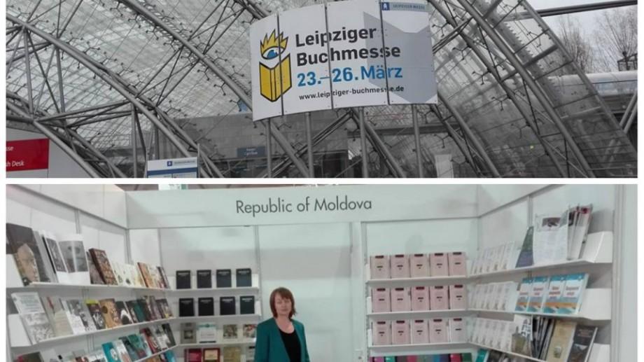 (foto) 15 edituri din Moldova și-au expus cărțile la Târgul de Carte de la Leipzig