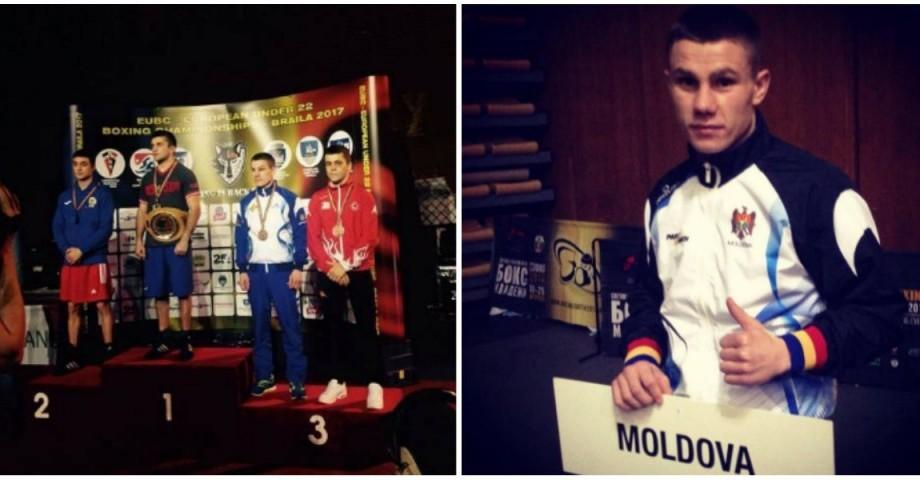 Medalie de bronz pentru Moldova la Campionatul European de Box