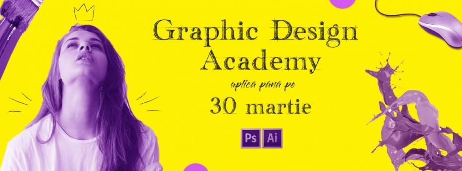 Provoacă-ți creativitatea! Graphic Design Academy revine cu o nouă ediție