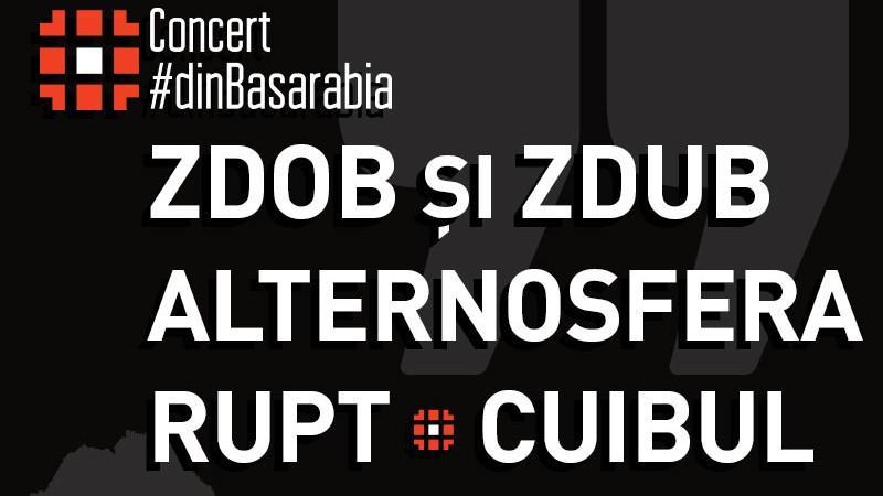 Cele mai bune trupe #dinBasarabia, Zdob și Zdub și Alternosfera, pe aceeași scenă la București