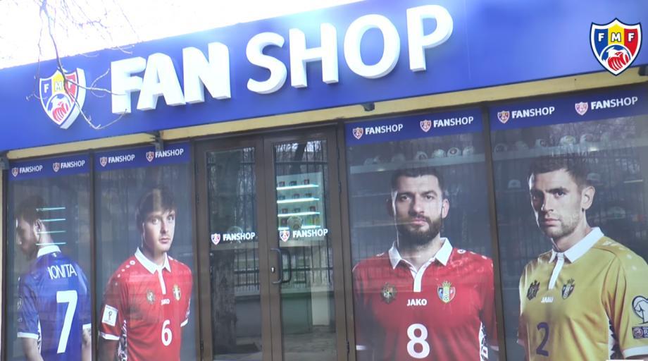 (video) La Chișinău s-a deschis primul fan-shop al naționalei de fotbal a Moldovei
