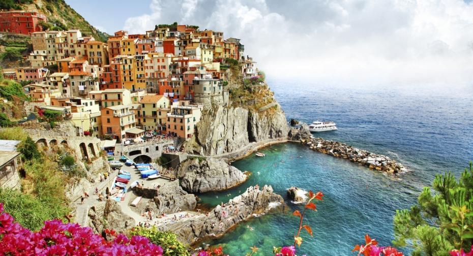 scenery of Italy series - Monarola village (Cinque terre)