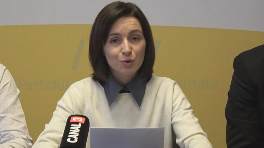 (video) Maia Sandu: Plahotniuc vrea la putere cu prețul libertății şi bunăstării cetățenilor