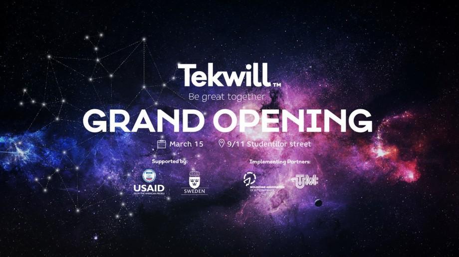 (foto) Tekwill își deschide oficial ușile pentru a găzdui inovația  și excelența în domeniul IT
