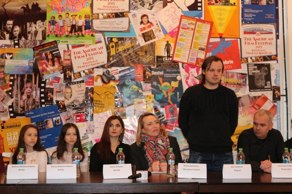 """La Chișinău a avut loc lansarea filmului """"Flutulus"""", o dramă poetică care ne pune la încercare"""