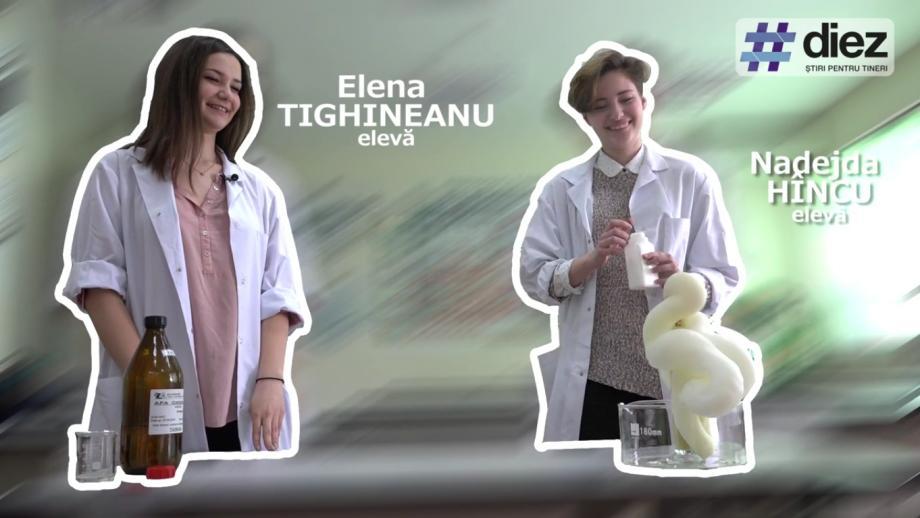 (video) Unde-s tinerii. Elena Tighineanu și Nadejda Hîncu, elevele care vor reprezenta Moldova la un concurs de științe din SUA