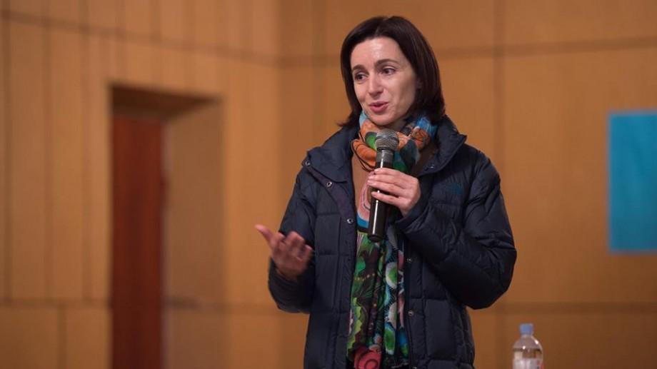 Maia Sandu critică dur propunerile lui Dodon și Plahotniuc de a schimba sistemul electoral