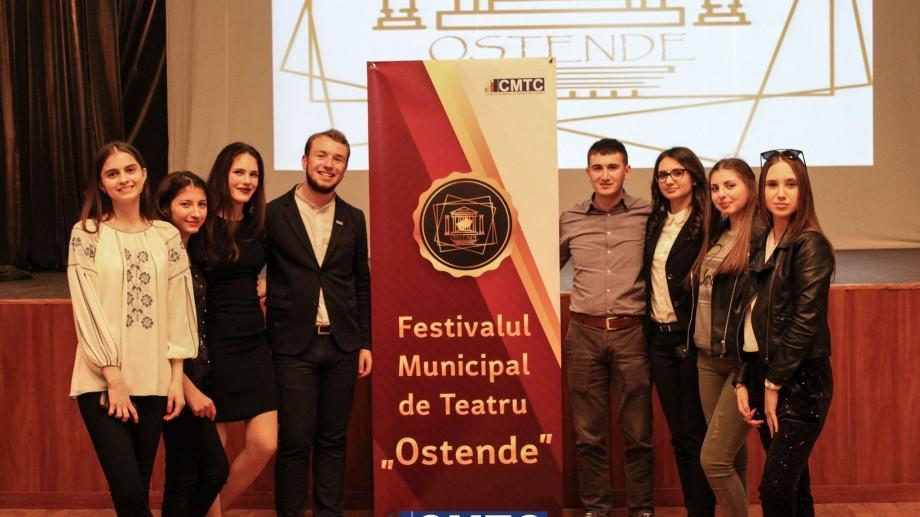 """Consiliul Municipal de Tineret din Chișinău te invită la Festivalului Municipal de Teatru """"OSTENDE"""""""