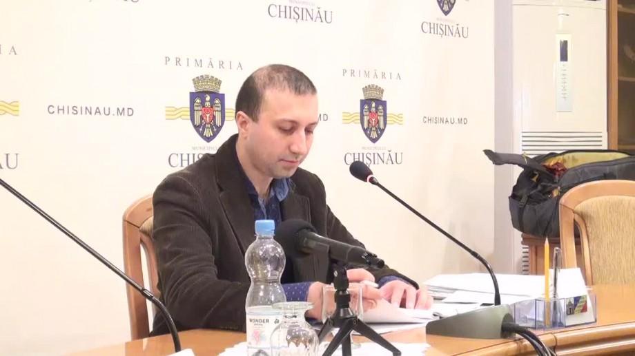 Şeful direcţiei transport a Primăriei capitalei, Igor Gamreţchi, a fost reținut