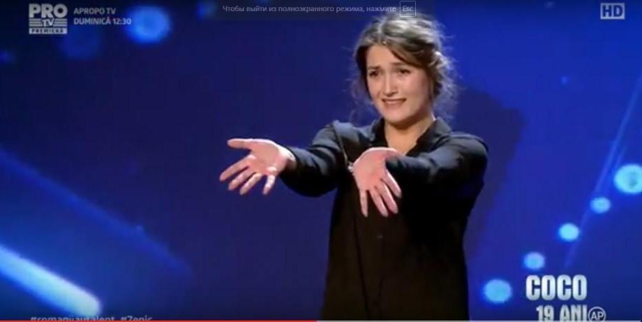 """(video) Și-a spus povestea prin dans și lacrimi! O moldoveancă a luat patru de """"Da"""" la Românii au Talent"""