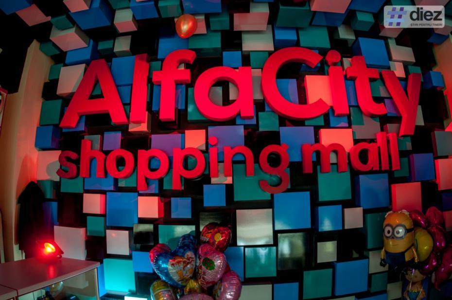 (foto) Un nou mall în Chișinău: Cum a fost la deschiderea Alfa City Shopping Mall de la Buiucani