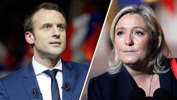 Alegeri prezidențiale în Franța: Macron și Le Pen au acces în turul doi. Cine este favorit