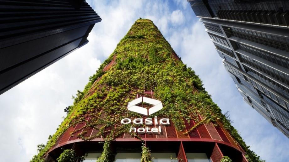 (foto) Hotelul eco care are propriul ecosistem și crește singur
