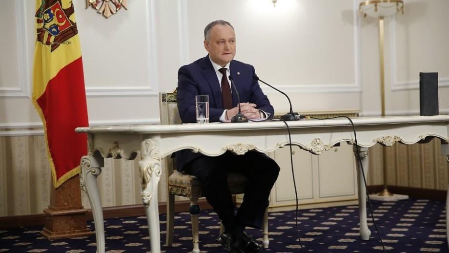 Igor Dodon a confirmat că va participa la evenimentele organizate de 9 mai la Moscova