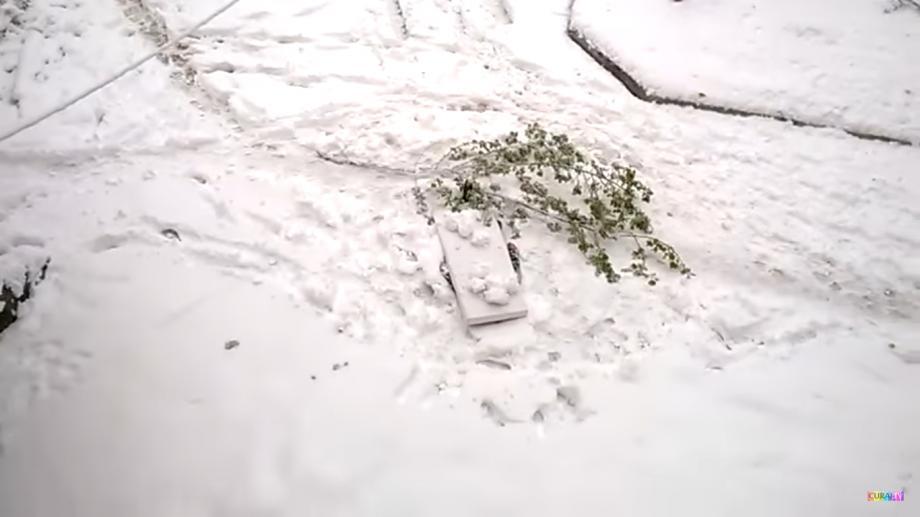 (video) Prima victimă a ninsorii. La Ciocana a fost găsit o persoană decedată în nămeți