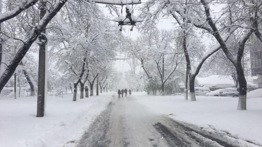 Iarna lovește în forță Republica Moldova! Cod portocaliu de ninsori și vânt puternic