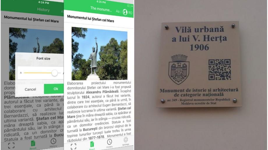 (foto) A fost lansată aplicația prin care putem cunoaște monumentele culturale din Chișinău. Cum funcționează aceasta