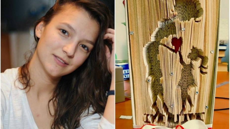 (foto) Cum reușește o tânără, studentă la medicină, să redea viață cărților cu un creion și o riglă
