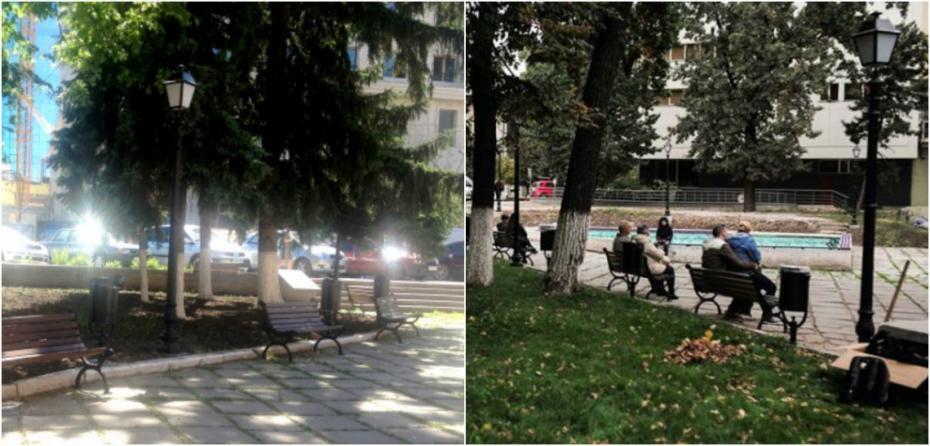 Răspuns la actul de vandalism din Scuarul Cehov. Donează pentru instalarea a patru bănci noi