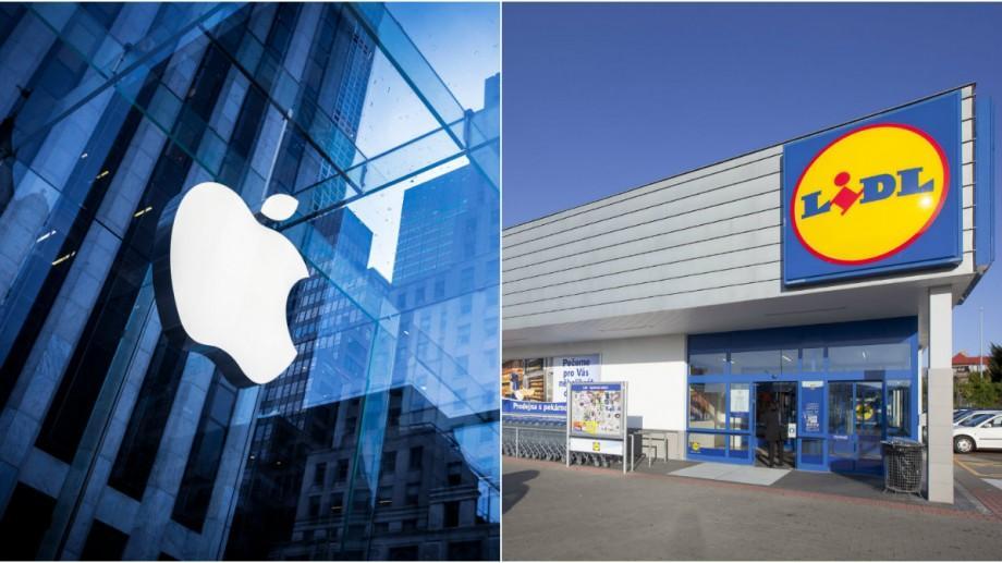 Lidl și Apple au depus cele mai multe cereri de înregistrare a mărcilor comerciale în Moldova în 2016