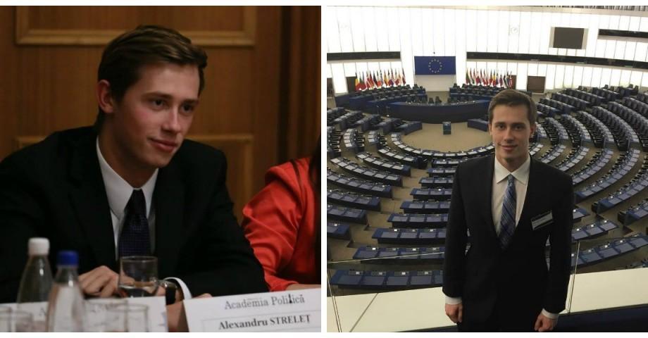 Alexandru Streleț, tânărul care vrea să aplice experiența internațională acasă