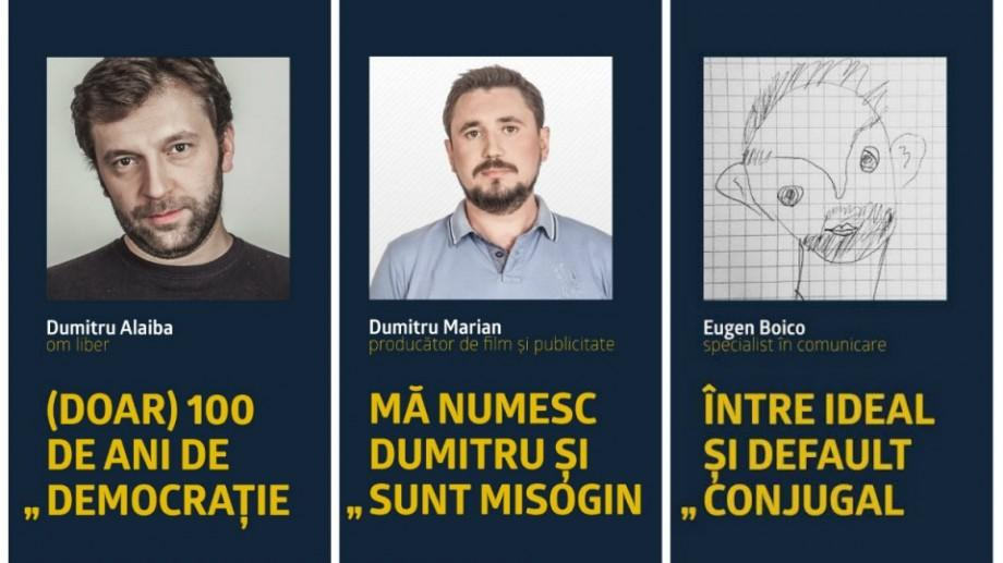 MENxx, ediția a II-a : Trei bărbați vor discuta despre cultura violului