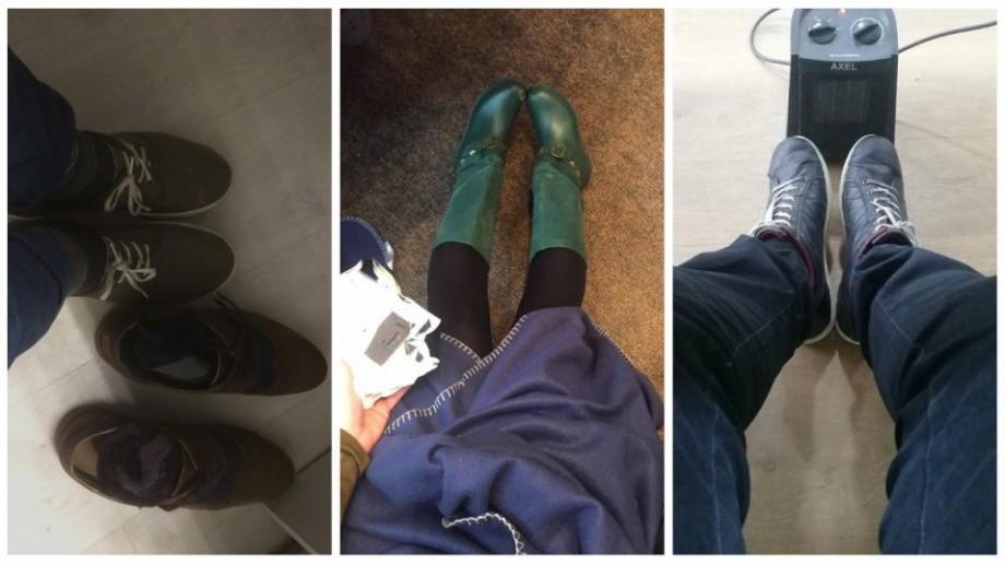 Recomandări #diez: cum să-ți usuci papucii la birou în lipsa Termocomului