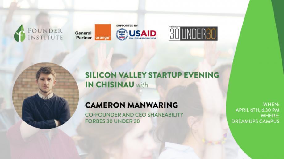 Un fondator al unei companii din Silicon Valley, inclusă în topul Forbes, vine să discute cu tinerii din Chișinău