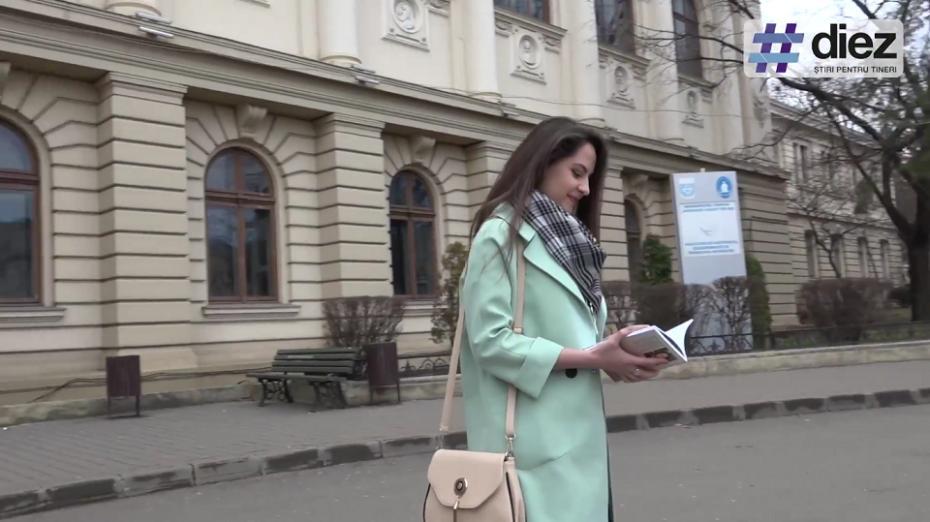 """(video) Unde-s tinerii. Crina Snegur, studentă și poetă la Iași: """"Gândesc mult poezia până o scriu"""""""