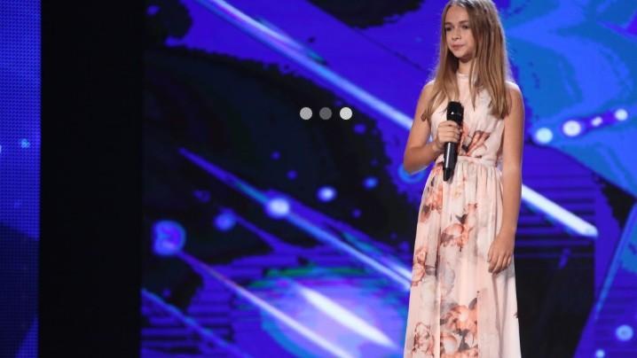 "(video) Românii au Talent: Eva Timuș produce surpriza serii interpretând piesa ""Beautiful"""