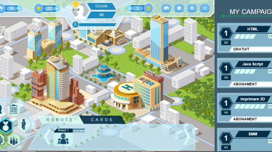 (foto, video) CODIFUN – primul joc educațional online din Moldova care își propune să provoace sistemul de învățamânt formal