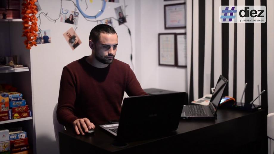 (video) Unde-s tinerii. Igor Rotaru, tânărul moldovean care a deschis primul hostel din Iași