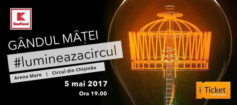 """""""Luminează Circul"""" – proiect socio-cultural inițiat de formația rock Gândul Mâței"""