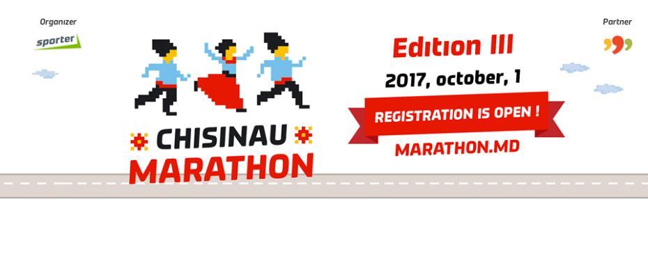 Înregistrează-te pentru cel de-al treilea Maraton Internațional din Chișinău